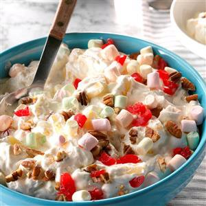 Creamy Pineapple Fluff Salad Recipe